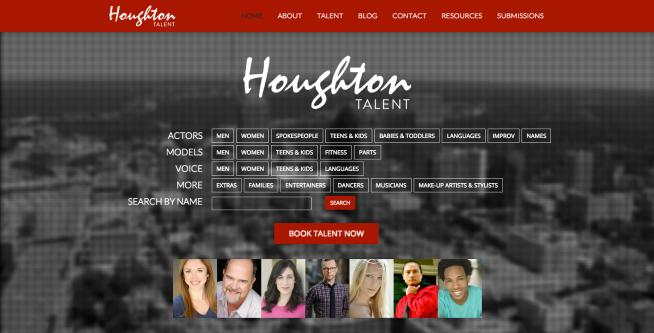 New Houghton Website